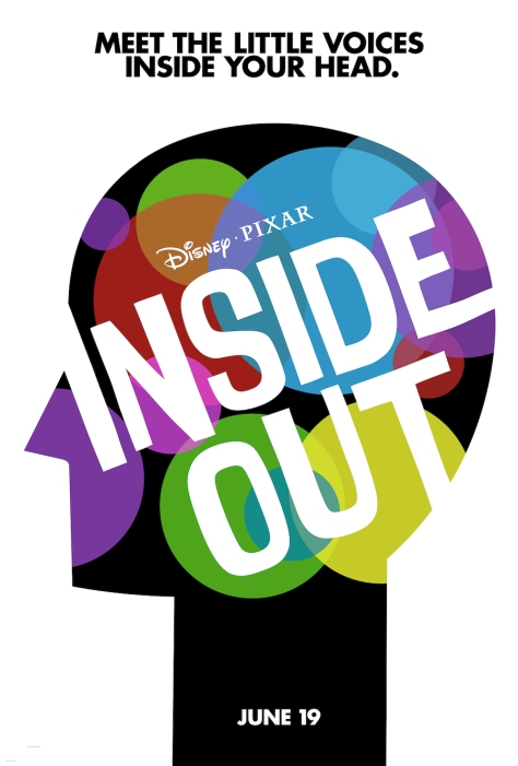 Inside Out 2015 Movie Primary Poster