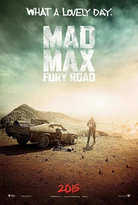 Mad Max Fury Road 2015 Movie Primary Poster