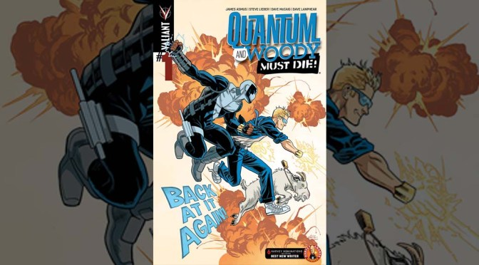 Review: Quantum And Woody Must Die! #1