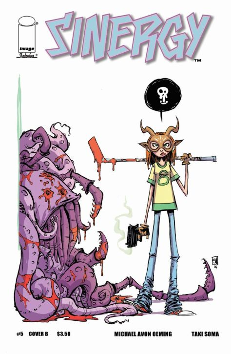 Sinergy #5 Skottie Young Variant