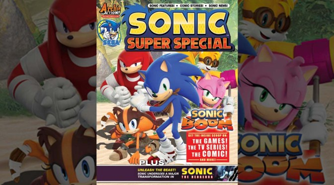Preview: SONIC SUPER SPECIAL MAGAZINE #13