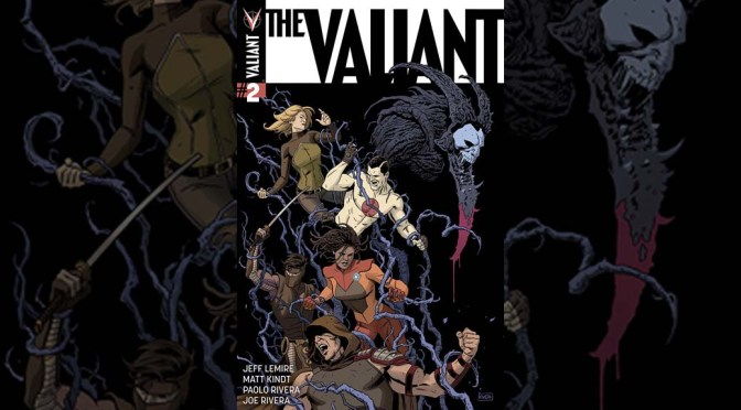Preview: THE VALIANT #2