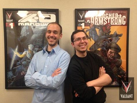 Valiant Entertainment announces Sales Managers