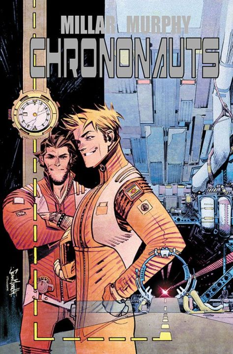 CHRONONAUTS #1 - Cover