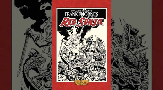 Preview: Frank Thorne's Red Sonja Art Edition Vol. 2