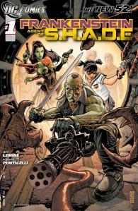 Frankenstein Agent of Shade #1