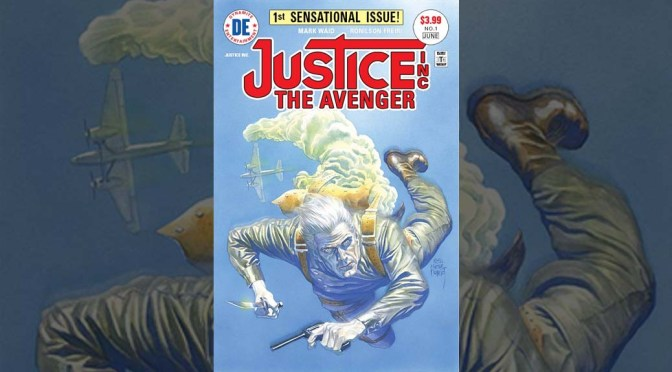 Mark Waid and Dynamite Entertainment Launch 'Justice, Inc.: The Avenger'
