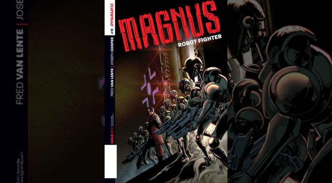 Preview: Magnus: Robot Fighter #11