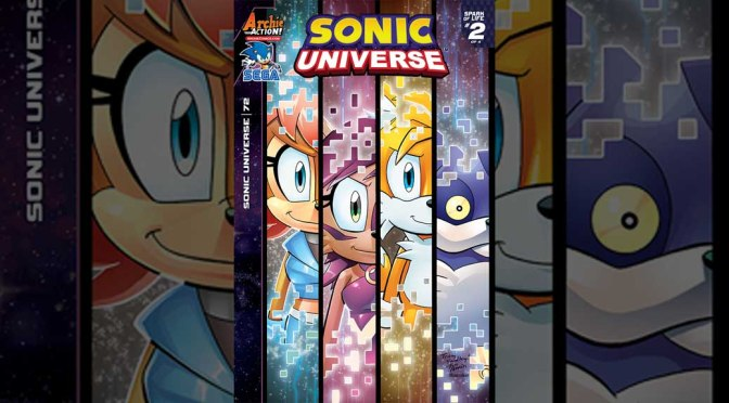 Preview: SONIC UNIVERSE #72