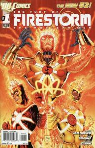 The Fury of Firestorm #1