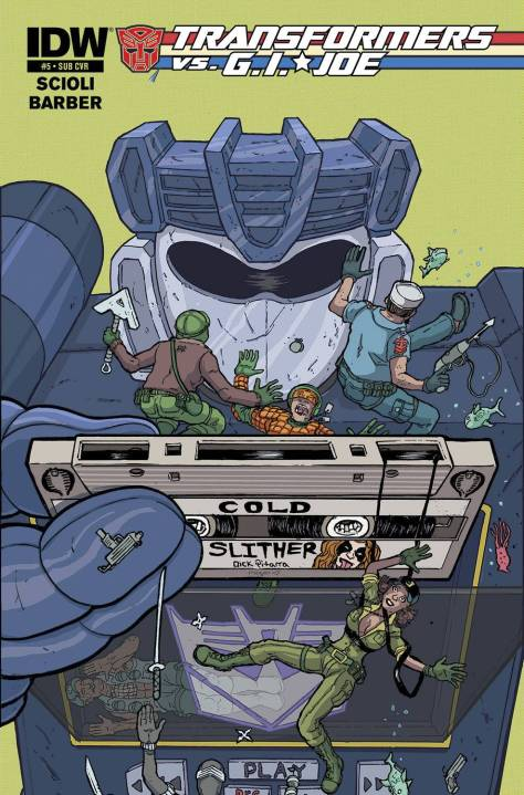 Transformers vs GI Joe #5