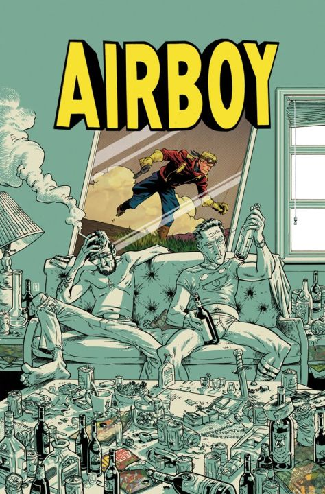 Airboy #1 - Cover
