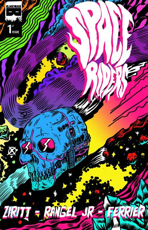 COVERED_SpaceRiders#1