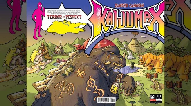 Review: Kaijumax #1