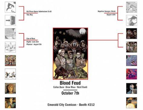 Oni Press March Madness Blood Feud