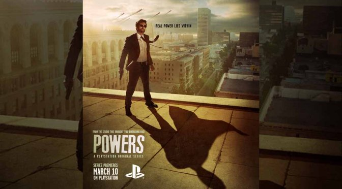 Sony Releases 1st Episode of 'Powers' Ahead of PS Release