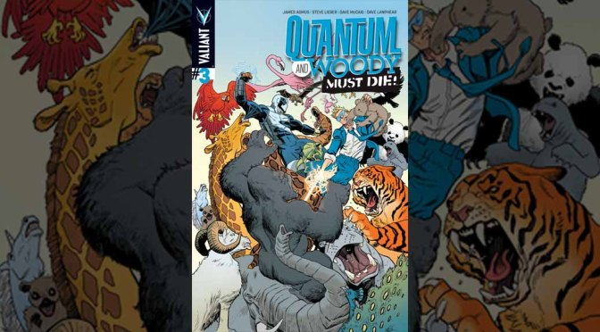 Preview: QUANTUM AND WOODY MUST DIE! #3 (of 4)