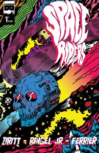 Space Riders #1 - Cover