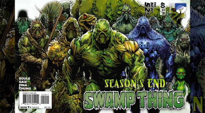 Review: Swamp Thing #40
