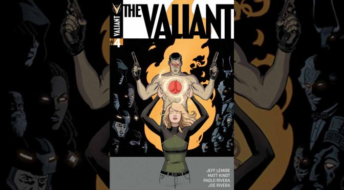 Preview: THE VALIANT #4 (of 4)