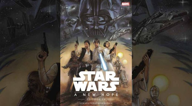 Marvel Shows Off Remastered 'Star Wars Episode IV' OGN