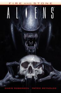 Aliens Fire & Stone TPB - Cover