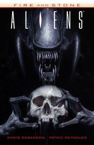 Aliens Fire & Stone TPB - Cover