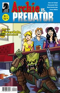 Archie vs Predator #2 - Cover