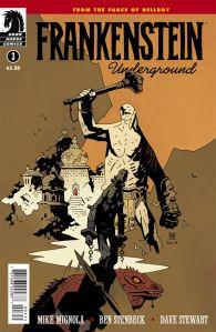 Frankenstein Underground #3 - Cover