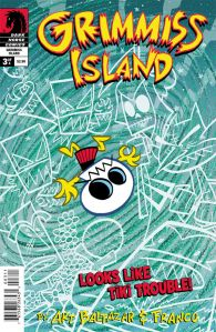 Itty Bitty Comics Grimmiss Island #3 - Cover