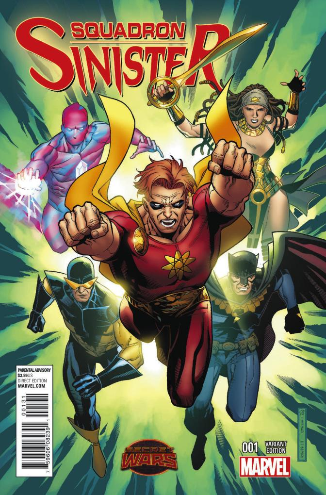 Review: Squadron Sinister #1