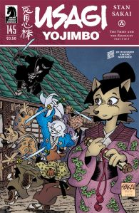 Usagi Yojimbo #145 - Cover