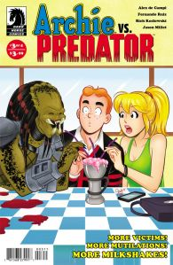 Archie vs. Predator #3 - Cover