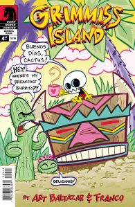 Itty Bitty Comics Grimmiss Island #4 - Cover