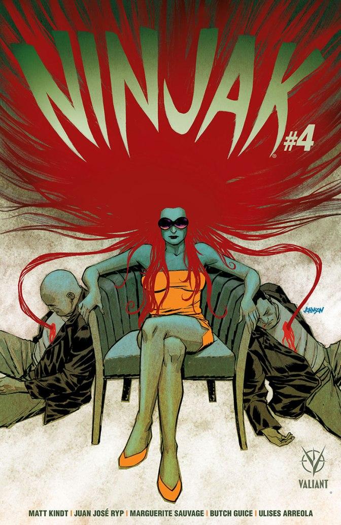 Review: Ninjak #4