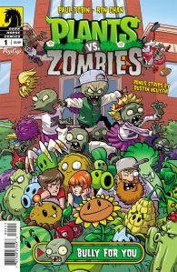 Plants vs Zombies Bully For You #1 - Cover