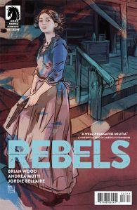 Rebels #3 - Cover