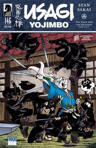 Usagi Yojimbo #146 - Cover