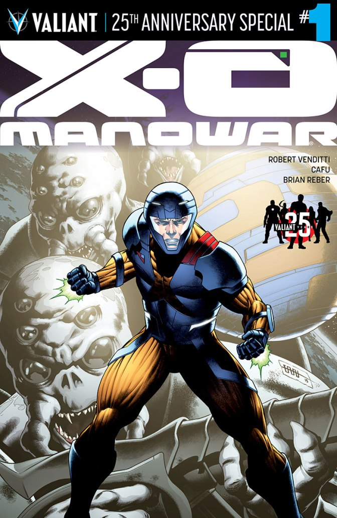 Review: X-O Manowar: Valiant 25th Anniversary Special #1