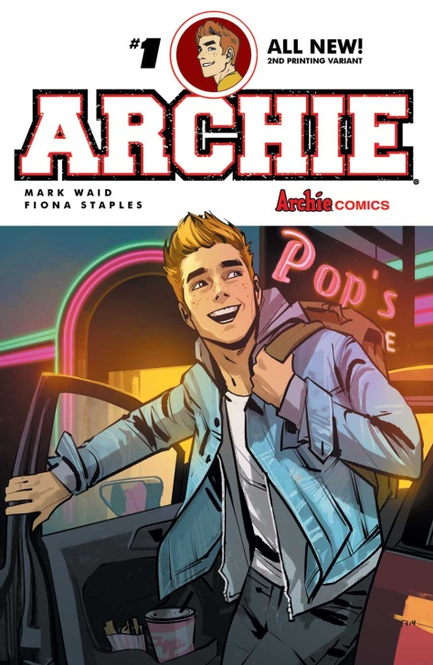 ARCHIE#1secondprinting